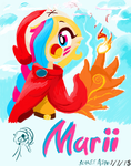 Marii (First MS Paint Drawing) by Scarlet-Ajani