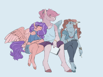Commission - Squad by PenRosa
