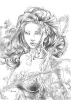 Poison Ivy by boscopenciller