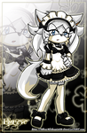Ookami - maid costume by SilverAlchemist09