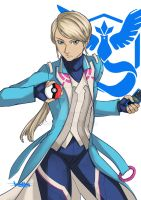 Blanche - Team Mystic by Zellmard