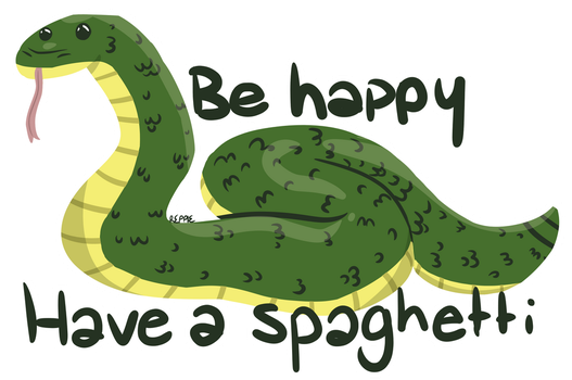 inspirational snek by niightowls
