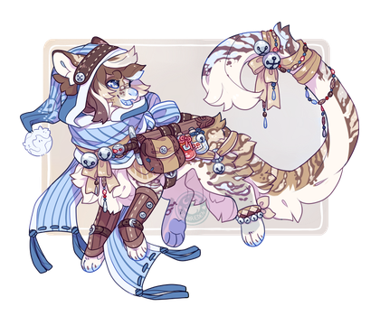 Advent Day 7 ~ Silver Bells by LunarAdopts