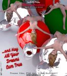 Free Download + I Love Girls and Christmas by PaulSuttonArt