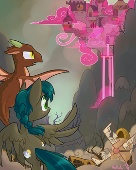 Patreon - Avariel's  Fallout Equestria Poster by Hollulu