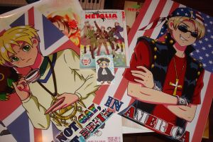 I Got From Anime Expo Hetalia By LilItalian13