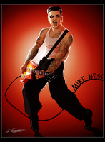 Mike Ness: Social Distortion by DJCoulz