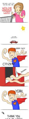 The new superhero by x-Aiko-chan-x