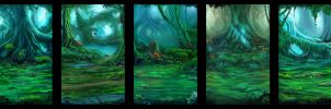 Inner Forest Designs by JKRoots