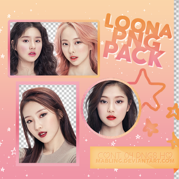 LOONA PNG pack by mabling