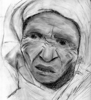Old Woman by Estecka