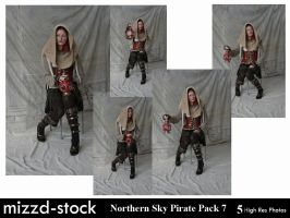 Northern Sky Pirate Pack 7 by mizzd-stock