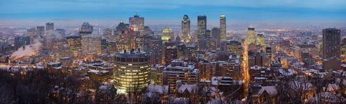 Montreal Panorama by d1rtyw0rm