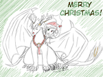 Up and away Rudolph! by GhostLiger