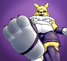 Big Thick Paw by Evil-Sprite