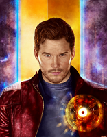 Guardians of the Galaxy Vol. 2 - Starlord by p1xer