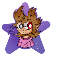 Dear starboy tord 1 -quick drawing- by Pusheen-Tfm