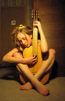 stock - with guitar 1 by Lina-Tsu