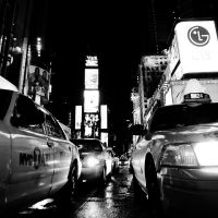 New York - Waiting for a taxi by DarkSaiF
