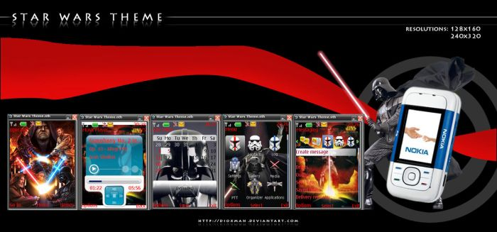 Theme Cell Nokia: Star Wars by dioxman
