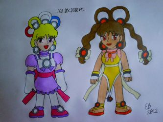 PC: Pretty Cure Chibi Commission Pack 3 by shnoogums5060