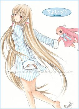 Chobits - Chii by cartoongirl7
