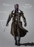 Baron Zemo redesign by DarthDestruktor