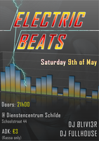 Electric Beats Flyer by NfERnOv2