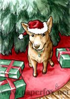 Time to Decorate ACEO by art-paperfox
