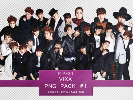 Vixx PNG Pack #1 by aeggyo