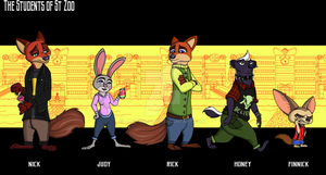 The Students of St Zoo 2 by JackOrJohn