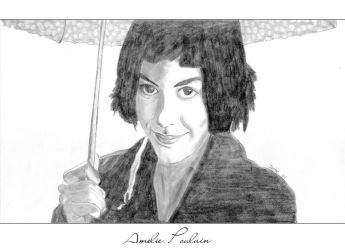 Amelie Poulain by nightshadow
