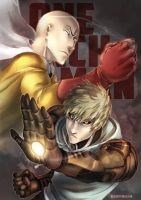 one punch man by Keidensan