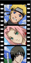 NARUTO -  BookmarkSet by Jennaris