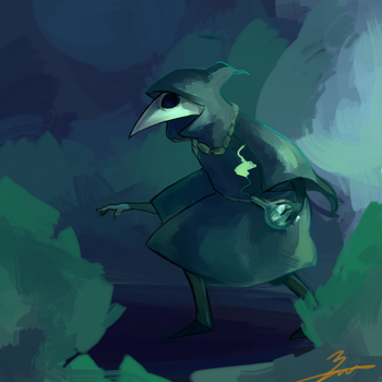 Plague Knight by Ciclobot