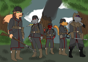 Ww1 Team  by Richtheking