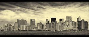 New York Waits For Irene by PortraitOfaLife