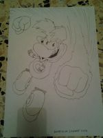 Rayman Fighting pose 1 by BabyMessina89