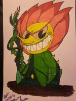 Cagney Carnation by WardenDarkwingArtist