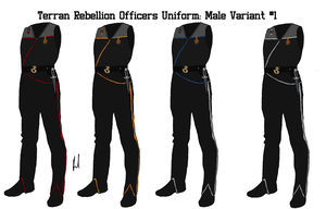 Terran Rebellion Officers Uniform Variant 1 Male by docwinter