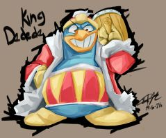 King Dedede 1 my style by Erickgalaxy