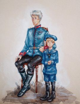 APH Prussia  Child!Germany - Gilbert  Ludwig by MissGoldenweekArt