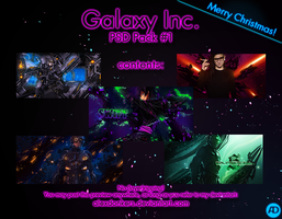 Galaxy Inc - PSD Pack 1 by AlexDonkers