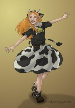 Malon the cow-girl by emptybook