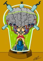 Mother Brain by EUAN-THE-ECHIDHOG