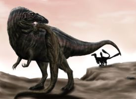Acrocanthosaurus atokensis by Durbed
