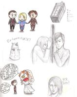 Doctor Who Sketches by BrerBunny13