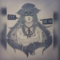 [..] Eye see you by GazeRei