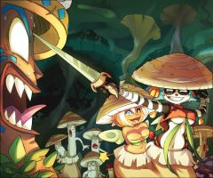 Fungus Dungeons by Maliki-Officiel