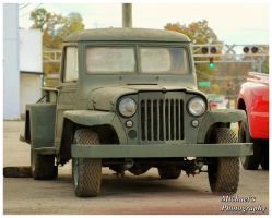 A Willys Truck by TheMan268